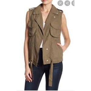 Coffeeshop | Woman Military Vest Size Medium